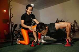 A beginner needs a personal gym trainer